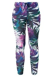 Roxy Relay Tights Sea Salt Jungle Times Blue