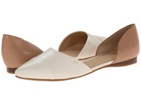 Tommy Hilfiger Naree3 Chic Cream Tan Women's Flat Shoes Beige