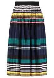 Louche Hiro Pleated Skirt Multi Multicoloured