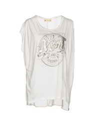 Met And Friends T Shirts White