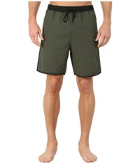 Hurley Dri Fit Rush Volley Carbon Green Men's Clothing