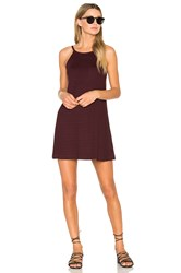 Rvca Shellox Dress Red