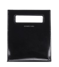 Helmut Lang Mini Lunch Leather Tote Black