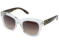 Steve Madden Monica Clear Fashion Sunglasses