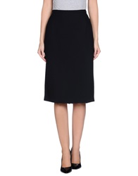 Gai Mattiolo Knee Length Skirts Black