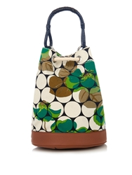 Marni Nymphenyhea Print Canvas Backpack