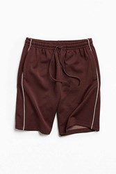 Urban Outfitters Uo Baggy Tricot Short Maroon
