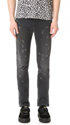 Marc Jacobs Skinny Leg Jeans Washed Black