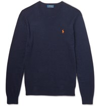 Polo Ralph Lauren Pima Cotton Weater Navy