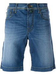 Jacob Cohen Five Pockets Denim Shorts Blue