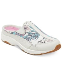 Easy Spirit Traveltime Sneakers Women's Shoes White Floral