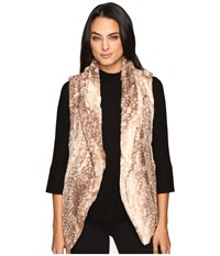 Show Me Your Mumu Fausta Fur Vest Faux Ie Fawn Women's Vest Gold
