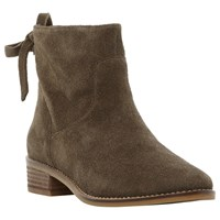 Steve Madden Chaz Block Heeled Ankle Boots Brown