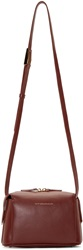Want Les Essentiels Burgundy Leather City Crossbody Bag