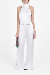 Galvan Windmill Jumpsuit White