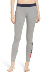 Fila Women's Imelda Training Tights Grey Marle Peacoat