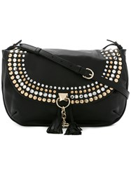 Sonia Rykiel Studded Cross Body Bag Black
