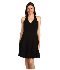 Scully Cantina Halter Dress Black Women's Dress