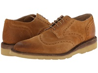 Frye Jim Wedge Wingtip Wheat Oiled Suede Men's Lace Up Wing Tip Shoes Brown