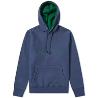 Know Wave Imprint Logo Hoody Blue