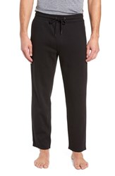 Nordstrom Shop French Terry Moto Pants Black Heather