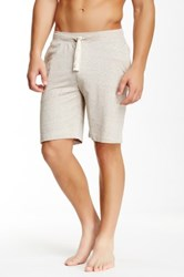 Bottoms Out Space Dye French Terry Short Beige