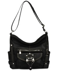 B.O.C. Morley Crossbody Hobo Black