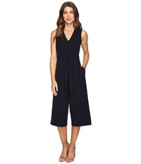 Christin Michaels Console Romper Navy Women's Jumpsuit And Rompers One Piece