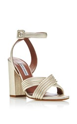 Tabitha Simmons Nora Sandals Gold