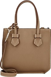Moreau Bregancon Top Zip Mini Tote Nude