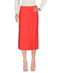 Laura Urbinati 3 4 Length Skirts Red