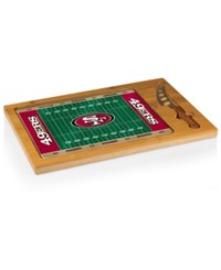 Picnic Time San Francisco 49Ers Icon Cutting Board Red