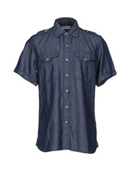 Vintage 55 Shirts Dark Blue