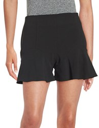 Guess Peplum Shorts Black