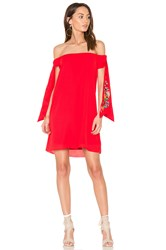 Vava By Joy Han Engleberta Dress Red