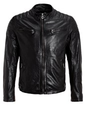Gipsy Dago Leather Jacket Schwarz Black