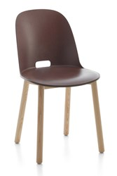 Emeco Alfi High Back Chair Brown