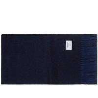 Norse Projects X Johnstons Donnegal Scarf Dark Navy