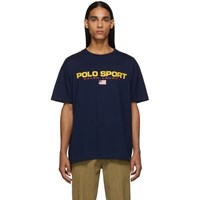 Polo Ralph Lauren Navy Icon Logo T Shirt