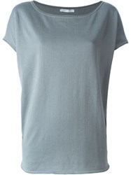 Societe Anonyme 'Funnel' Knit Top Grey