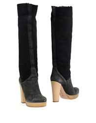Eva Turner Boots Black