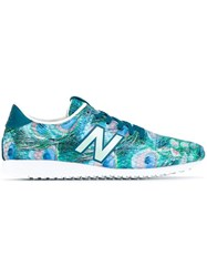 New Balance Feather Print Sneakers Green