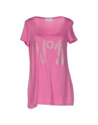 Anna Rachele Jeans Collection T Shirts Fuchsia