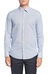 Pal Zileri Men's Grid Print Sport Shirt