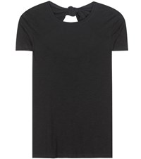 Proenza Schouler Jersey Cotton T Shirt Black