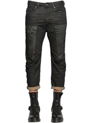 Diesel 17Cm Narrot Distressed Denim Jeans