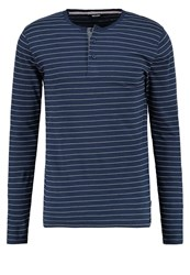 Only And Sons Onsteo Long Sleeved Top Blues Dark Blue