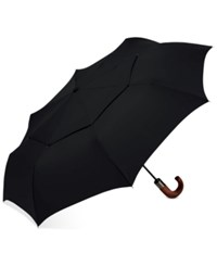 Shedrain Automatic Open Close Folding Umbrella Black