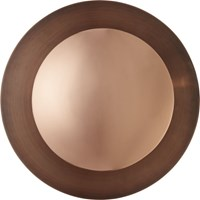 Cb2 Copper Disc Wall Sconce