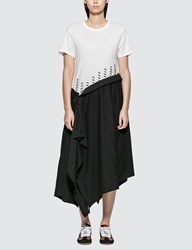Loewe T Shirt Maxi Dress White